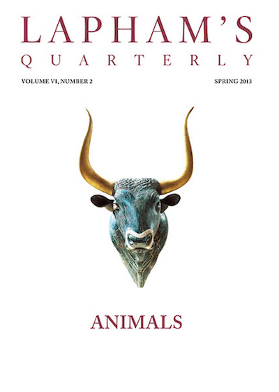 Lapham's Quarterly: Animals